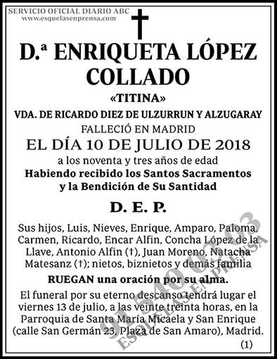 Enriqueta López Collado